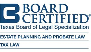 texas board of legal specialization board certified logo